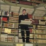 В библиотеке Григорианского университета в Риме