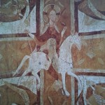 01 cavalier-blanc-auxerre de la cathédrale d'Auxerre, vers 1100.