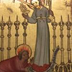 Деревянный иконостас работы Бертрама Минденского (Гамбург,1340-1415)