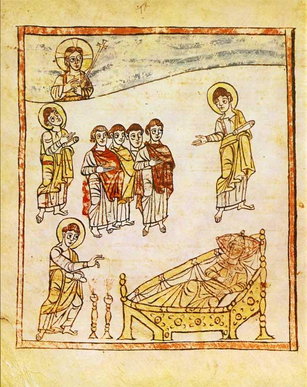 Апокалипсис  2.18-24.Thyatira-Trier9