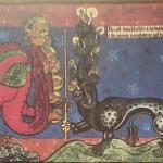 4 enluminure de l'apocalypse de la reine Eléonore au XIIIème siècle entre 1268 et 1300