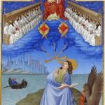 Миниатюра из Часослова герцога Беррийского (Франция, 15 в.)
