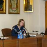 Выступление на общецерковной конференции в зале ОВЦС