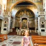 Рим, Базилика Санта Прасседе (Мозаика с сюжетами из Апокалипсиса)